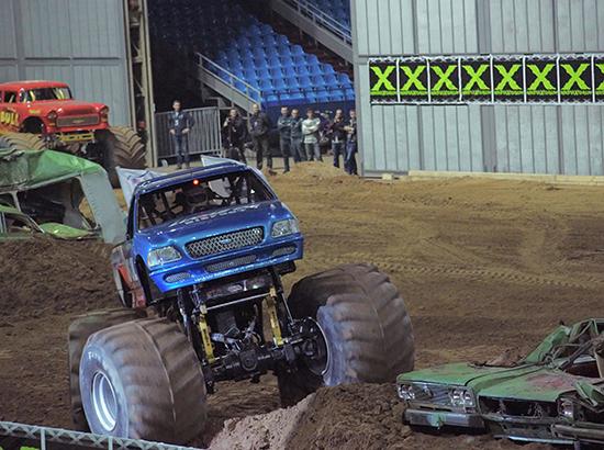 монстр-трак (Monster Truck), бигфут (Bigfoot)