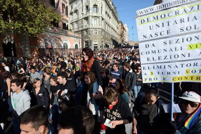 Европа протестует