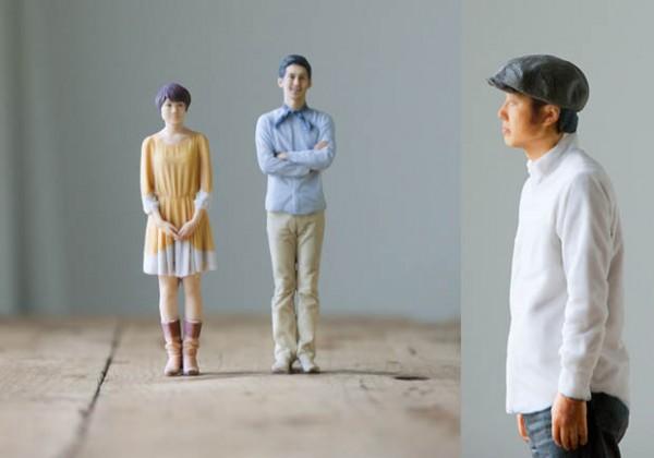 В японской фотостудии вместо 2D-снимков делают 3D-скульптуры