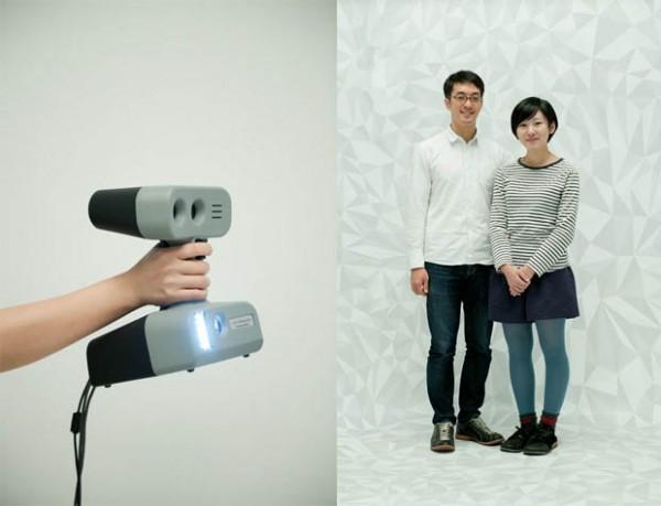В японской фотостудии делают 3D-скульптуры
