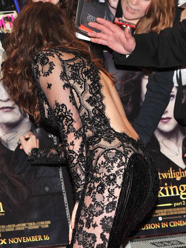 Кристен Стюарт пришла голой на премьеру Сумерек