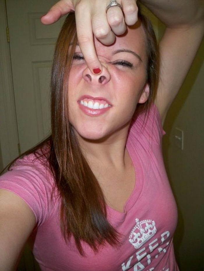 Забавные снимки смешных девушек