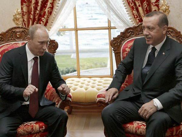 Путин в Турции