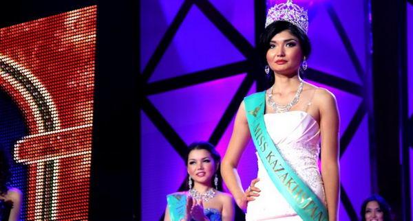 Жазира Нуримбетова из Шымкента. Мисс Казахстан-2012