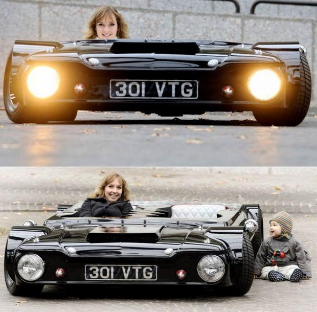 Самый плоский в мире автомобиль