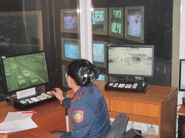 В Алматы в местах массового скопления людей установлены 120 видеокамер