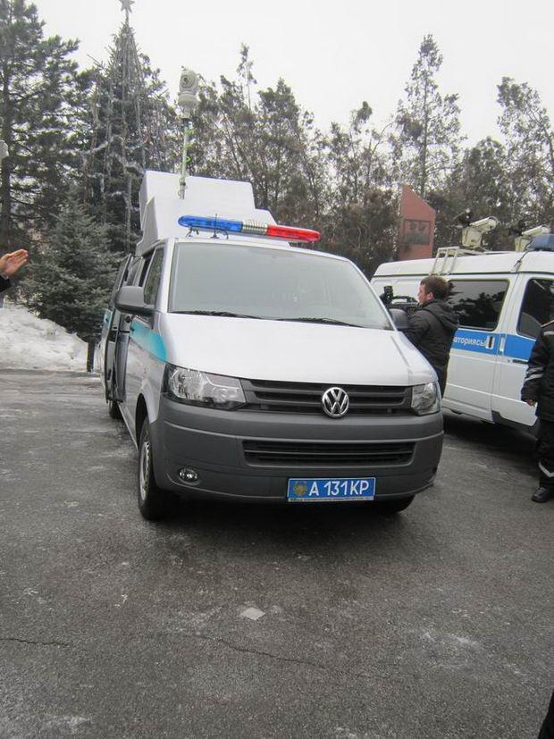 Алматинские дорожные полицейские активно внедряют новые технологии. Полицейский автомобиль Казахстан