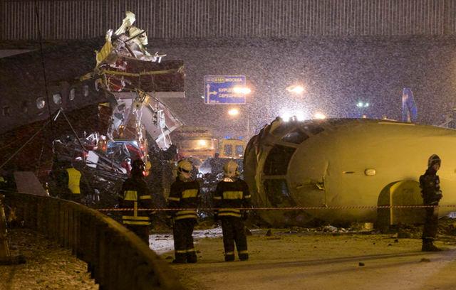 Крушение Ту-204 во Внуково