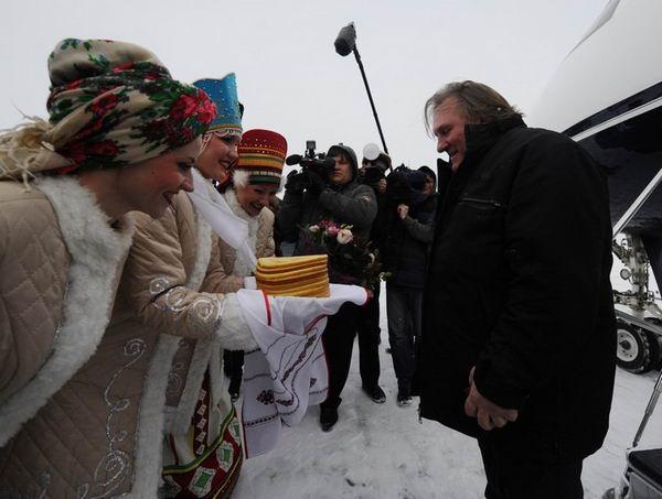 Депардье стал гражданином России
