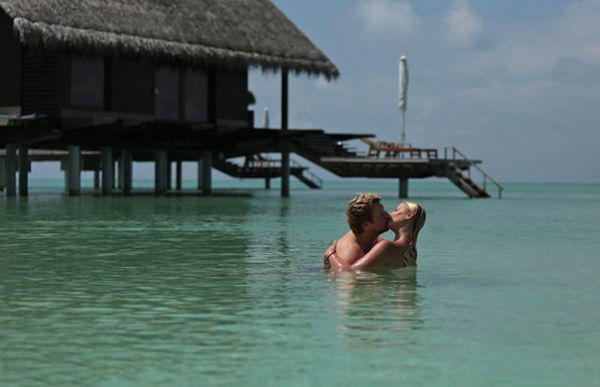Волочкова соблазнила Баскова на Мальдивах