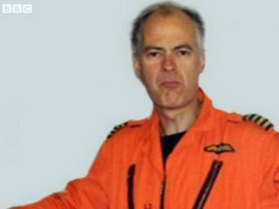 Пилот Пит Барнс погиб при крушении вертолета в центре Лондоне