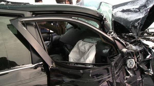 20 автомашин столкнулись на трассе Кокшетау-Астана