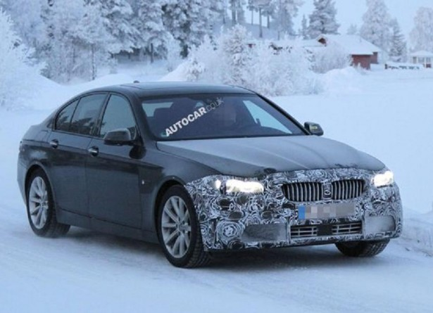 Шпионы засняли обновлённые седан и универсал BMW 5-Series