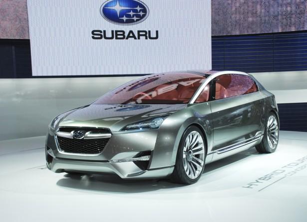 Subaru покажет свой первый гибрид этой весной