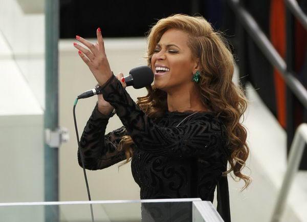 Бейонсе призналась, что пела на инаугурации Обамы под фонограмму