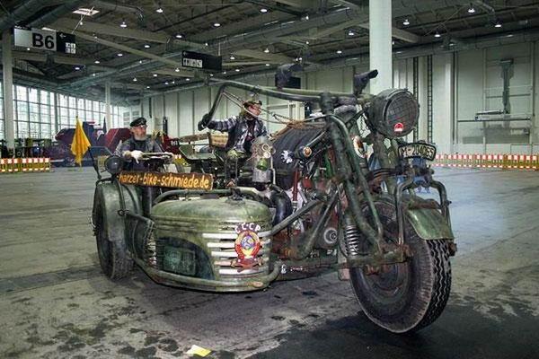 Самый крупный мотоцикл в мире