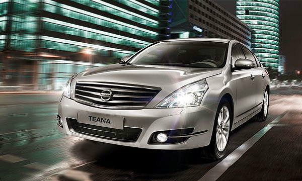Nissan Teana стал изысканней