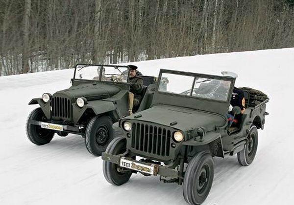 ГАЗ-67 – наш ответ «Виллису»