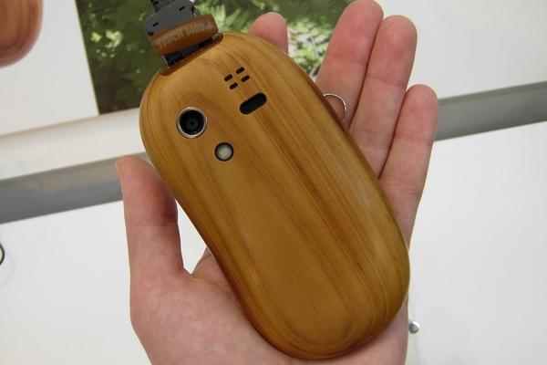 Оригинальный деревяный телефон Touch Wood SH-08C