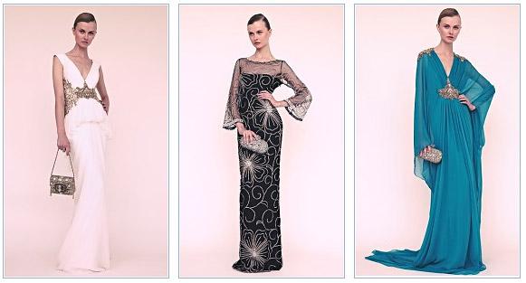 Вечерние платья 2013
