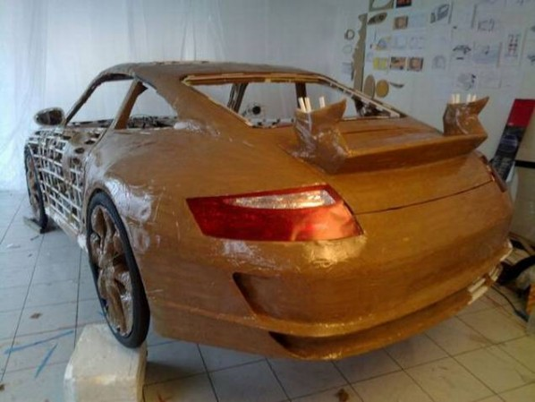 Как сделать Porsche 911 своими руками