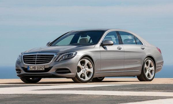 Новый Mercedes S-class пришел на смену Maybach