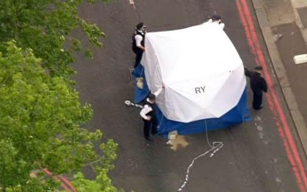 Кровавое убийство в Лондоне
