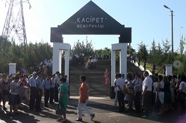 Жертв голодомора и политических репрессий вспоминали в Шымкенте