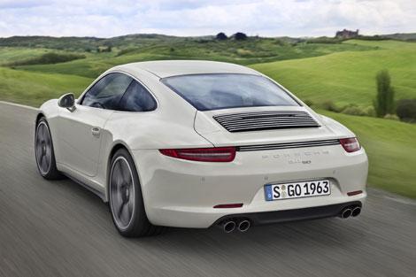 Porsche 911 получил юбилейную спецверсию